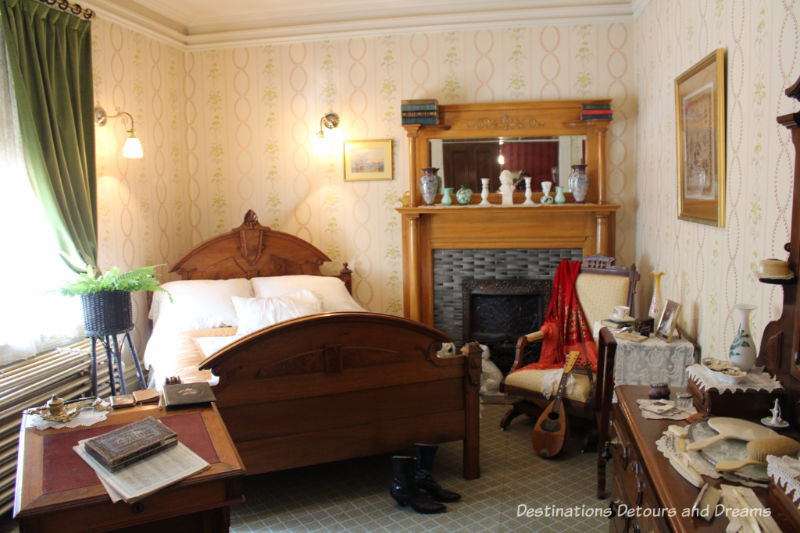 Bedroom at Dalnavert, Museum, Winnipeg, Manitoba