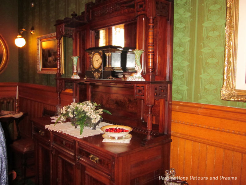 Dining room at Dalnavert Museum, Winnipeg, Manitoba