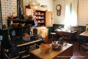 Kitchen in Dalnavert Museum, Winnipeg, Manitoba