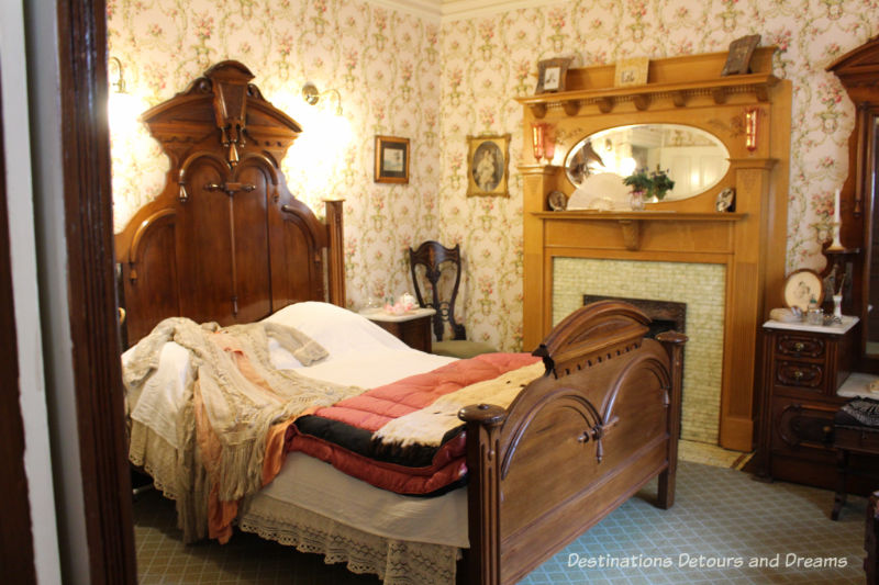 Bedroom at Dalnavert Museum, Winnipeg, Manitoba