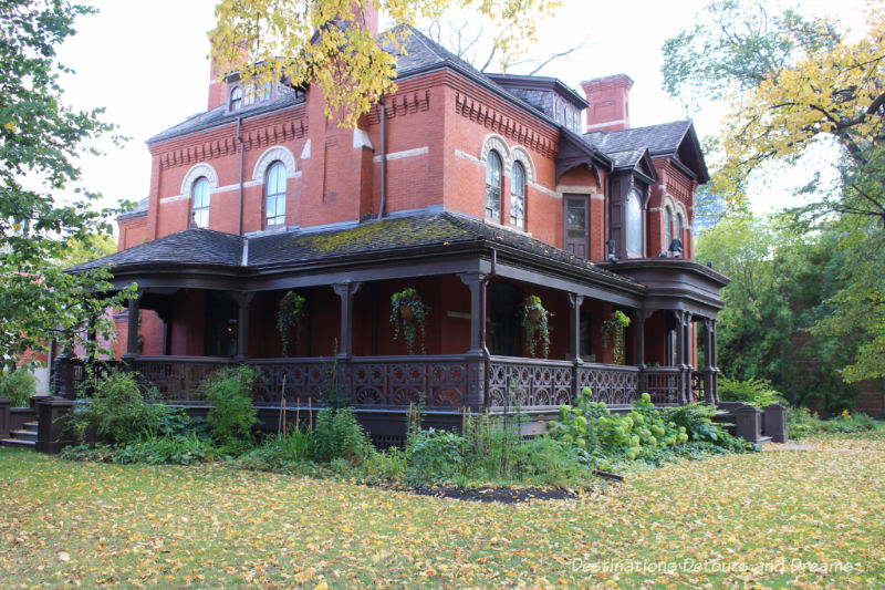Dalnavert Museum in downtown Winnipeg, Manitoba offers a look into upper-class life of the late 1800s.
