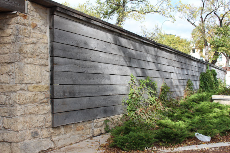 Discovering history at Upper Fort Garry Provincial Park in Winnipeg, Manitoba through technology, art, gardens and an old gate