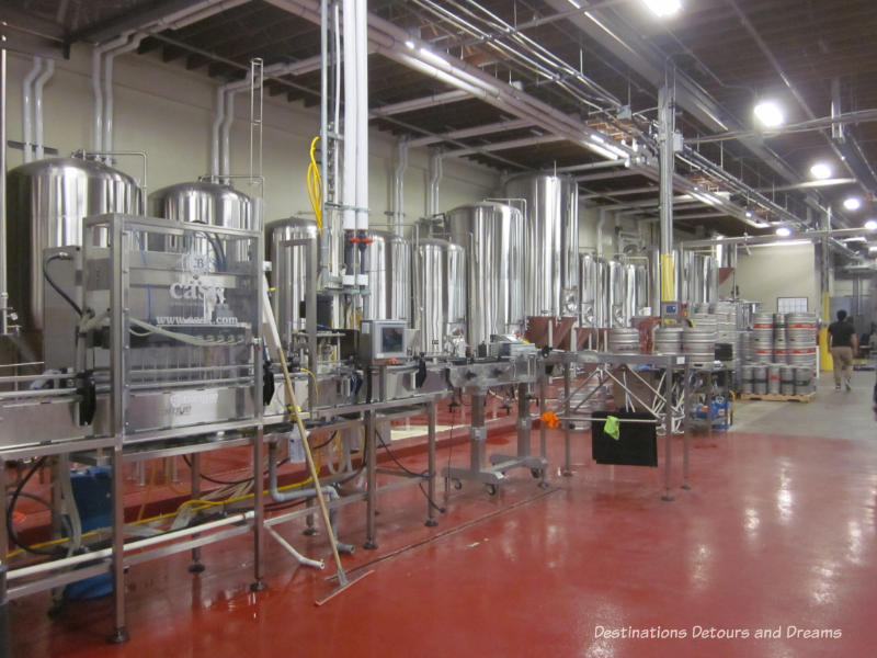Winnipeg ale Trail: tour of Torque Brewing #Winnipeg #brewery