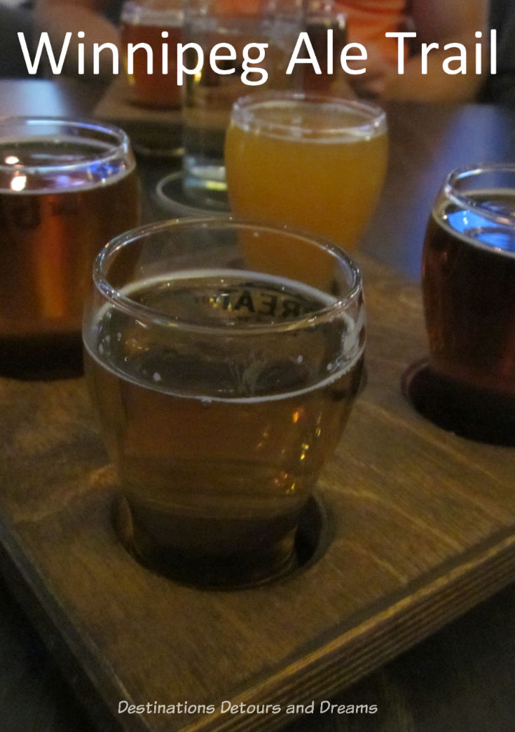 Winnipeg Ale Trail: touring microbreweries in #Winnipeg #Manitoba #craftbeer #ale