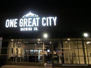 Winnipeg Ale Trail: One Great City Brewing Company