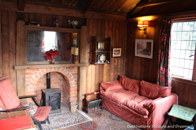 Holiday Chalet at the Rural Life Centre in Tilford, Surrey showcasing over 150 years of British rural life