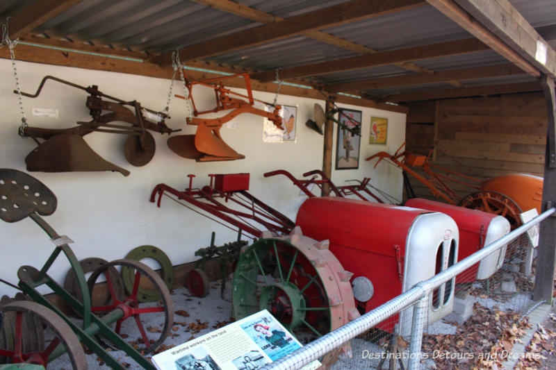 Collection at the Rural Life Centre in Tilford, Surrey showcasing over 150 years of British rural life