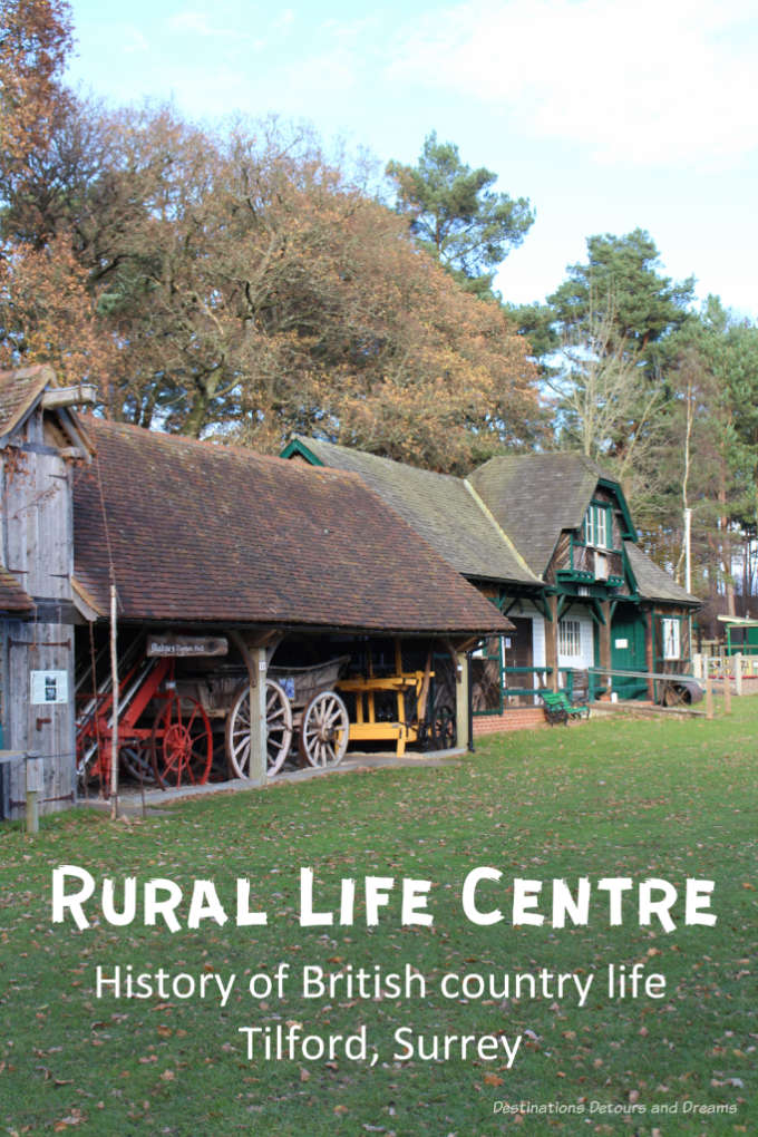 Museum of British Rural Life: The Rural Life Centre in Tilford, Surrey has the largest countryside historical collection in England's South