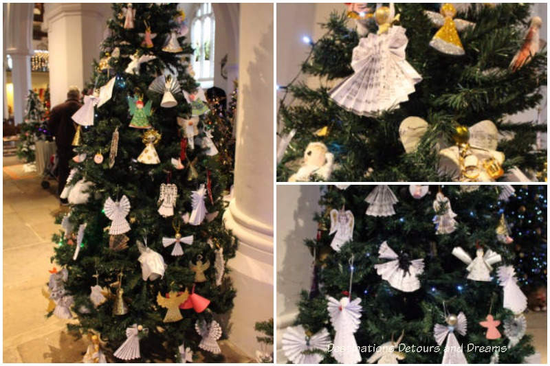 Festival of Christmas Trees at St. Andrew's Church in Farnham, Surrey, United Kingdom