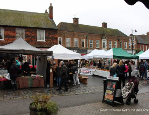 Haslemere Christmas Market: A lovely one-day community Christmas market in a rural British market town #Christmasmarket