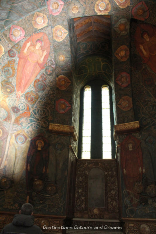 The Mystical and Extraordinary Watts Chapel: a Cemetery Chapel in Crompton, Surrey designed as work of art by Mary Watts