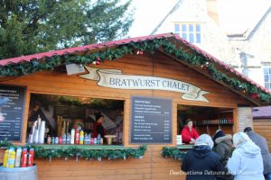 Winchester Christmas Market: A traditional German-style Christmas market on the grounds of historic Winchester Cathedral