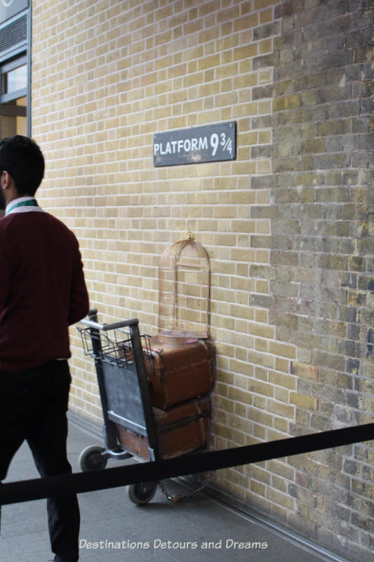 Platform 9 3/4 at King's Cross Station