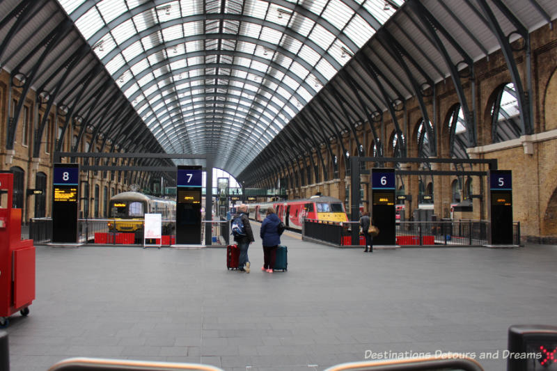 King's Cross Station, London, England