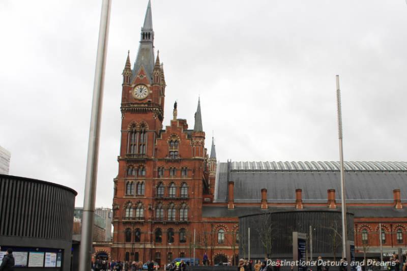 St Pancras Station, London, Ebgkand