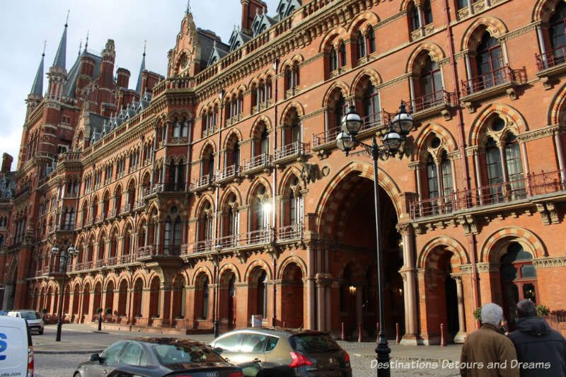 St Pancras Station, London, England