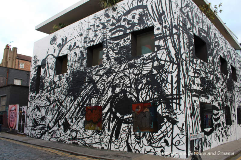 London street art in Shoreditch