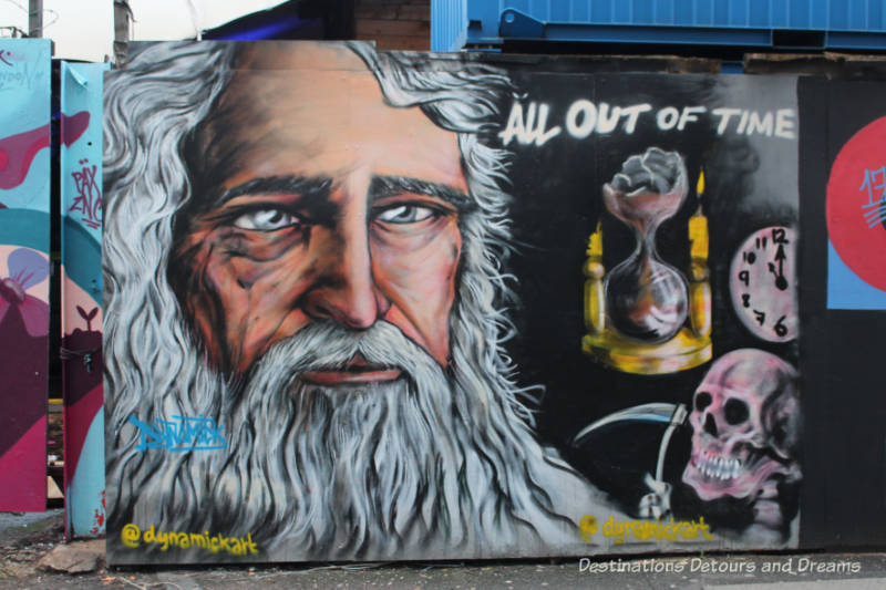 London street art in Shoreditch