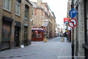 Street in Shoreditch, London: exploring street art