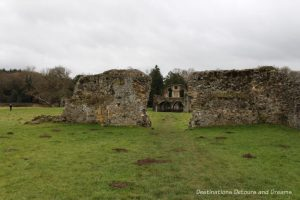 The Otherworldly Ruins of Waverley Abbey, Britain's first Cistercian monastery, located in the Surrey countryside