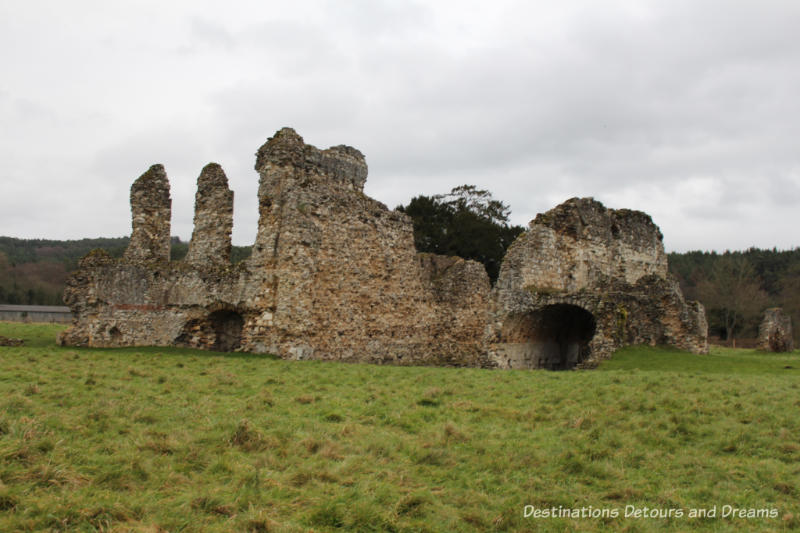 The Otherworldly Ruins of Waverley Abbey, Britain's first Cistercian monastery, located in the Surrey countryside near Farnham