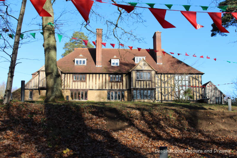 Limnerslease, homeof G f and Mary Watts, at Watts Gallery - Artists' Village in Compton, Surrey