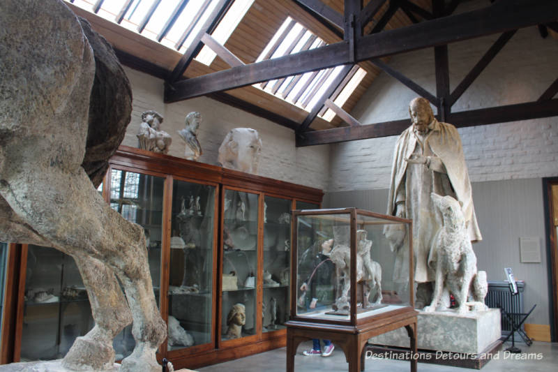 Sculpture Gallery at Watts Gallery - Artists' Village in Compton, Surrey