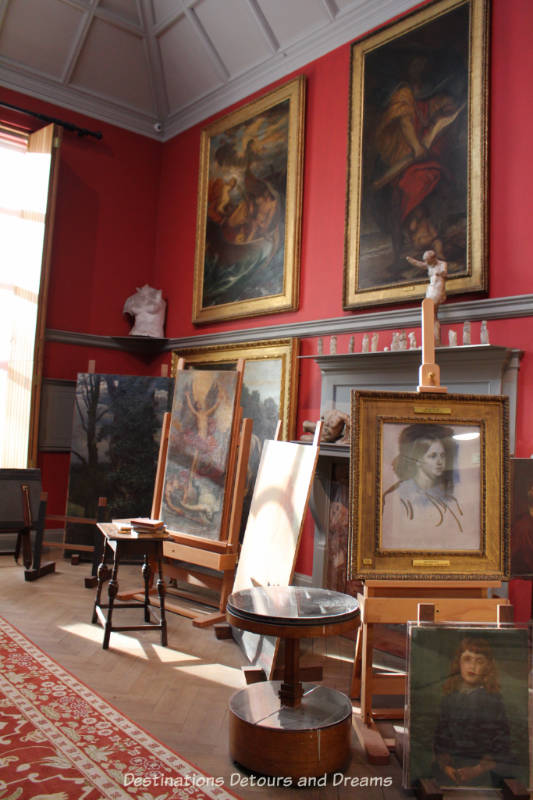 G F Watts studio at Watts Gallery - Artists' Village in Compton, Surrey