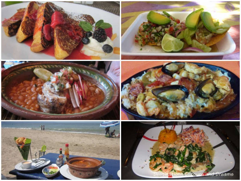 Feasting in Puerto Vallarta, Mexico - six delicious meals