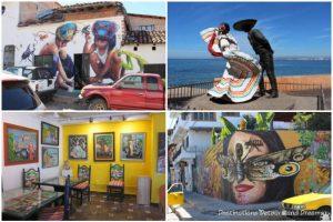 Impressions of Puerto Vallarta: art - street art, statues, galleries