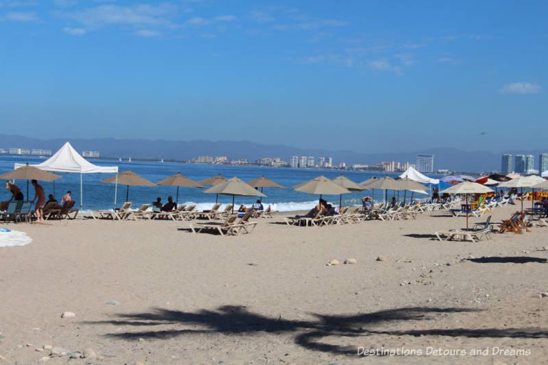Impressions of Puerto Vallarta: the beach