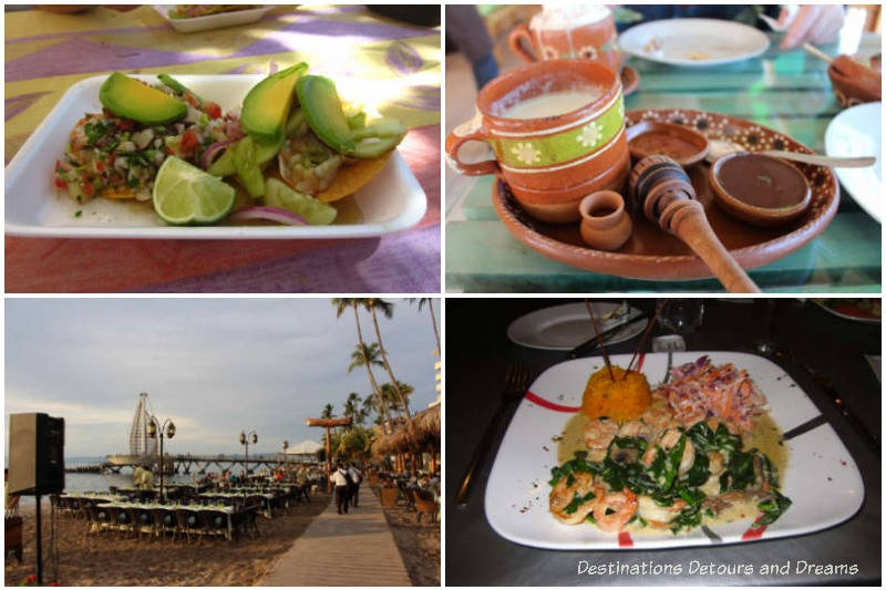 Impressions of Puerto Vallarta: an overwhelming selection of food