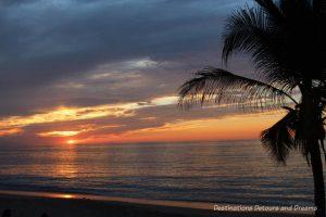 Impressions of Puerto Vallarta: brilliant sunset
