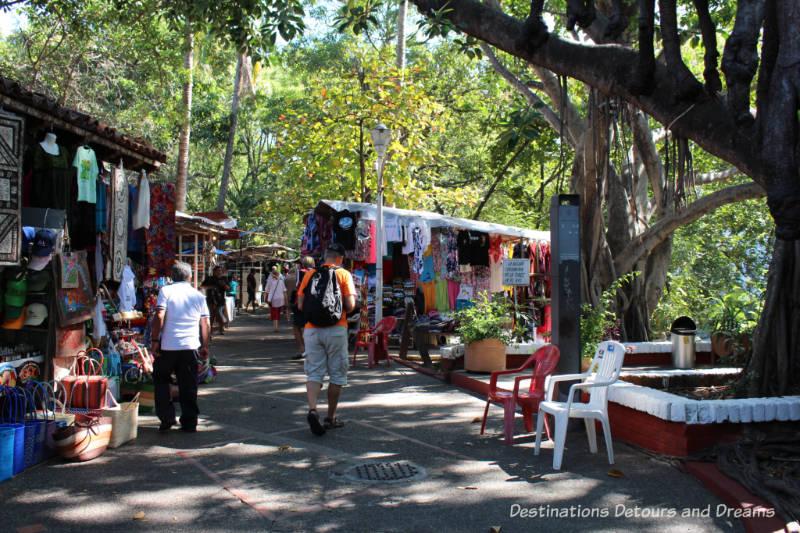 Market on Isla Cuale, Puerto Vallarta, Mexico
