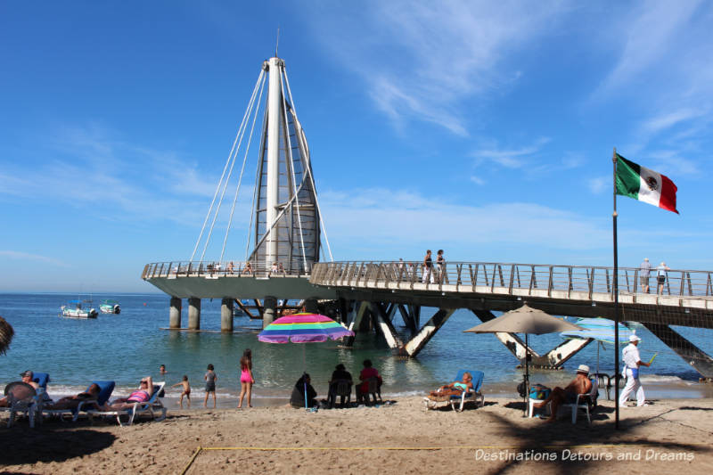 Los Muertos Pier, Puerto Vallarta, Mexico