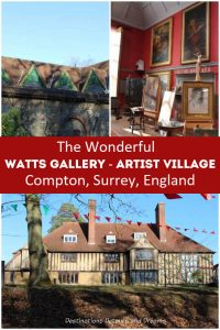 Watts Gallery - Artists' Village in Compton, Surrey, England: Victorian art and history at the former home of G F Watts and Mary Watts #England #Surrey #art #Victorian #ArtsandCrafts #Watts