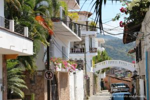 The Colourful Architecture and History of Gringo Gulch, Puerto Vallarta, Mexico: The Little Bridge of Sighs