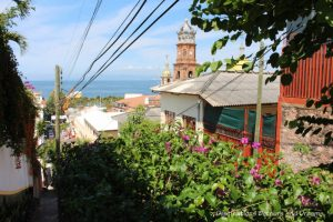 The Colourful Architecture and History of Gringo Gulch, Puerto Vallarta, Mexico: the view