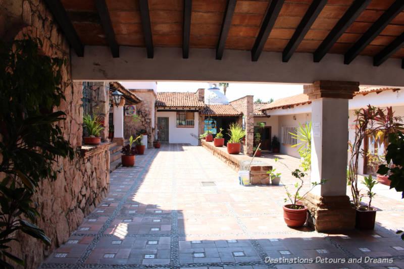 Courtyard in Puerto Vallarta