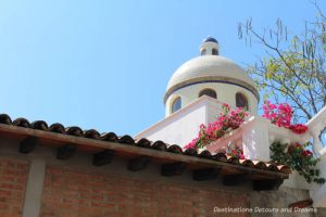 The Colourful Architecture and History of Gringo Gulch, Puerto Vallarta, Mexico: cupola