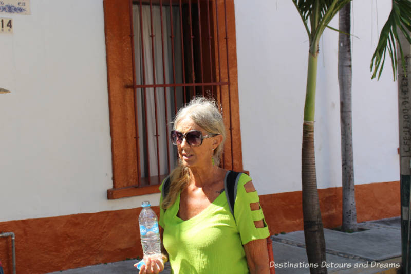 The Colourful Architecture and History of Gringo Gulch, Puerto Vallarta, Mexico: Sandra of Puerto Vallarta Walking Tours