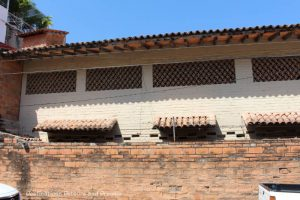 The Colourful Architecture and History of Gringo Gulch, Puerto Vallarta, Mexico: Clay tiles used on roofs and for ventilation