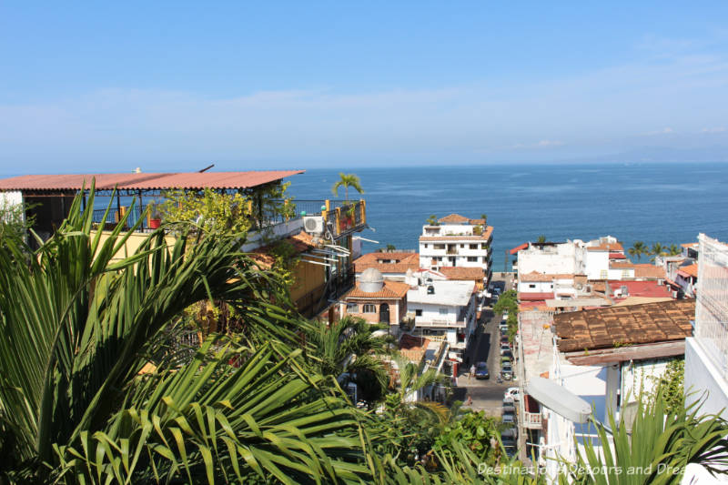 View from Gringo Gulch in Puerto Vallarta, Mexico