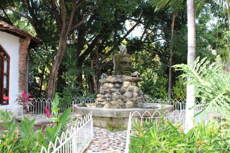Sculpture on Isla Cuale: Puerto Vallarta's Island Oasis