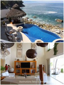 Puerto Vallarta IFC Home Tour: two spaces from the fourth house on the tour