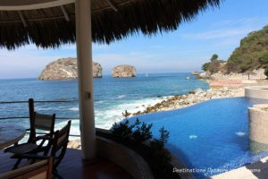 View of Los Arcos Marine Park from one of the homes on the Puerto Vallarta IFC Home Tour