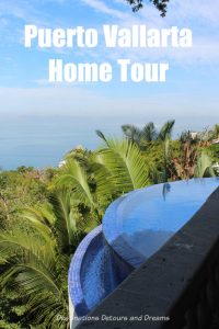 Touring beautiful and unique homes in Puerto Vallarta, Mexico