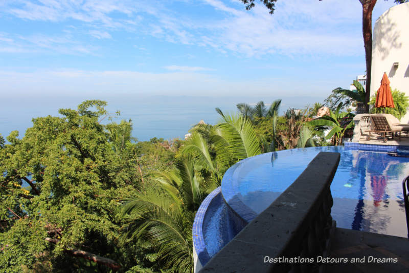 View from one of the homes on the Puerto Vallarta home tour of architecturally interesting homes