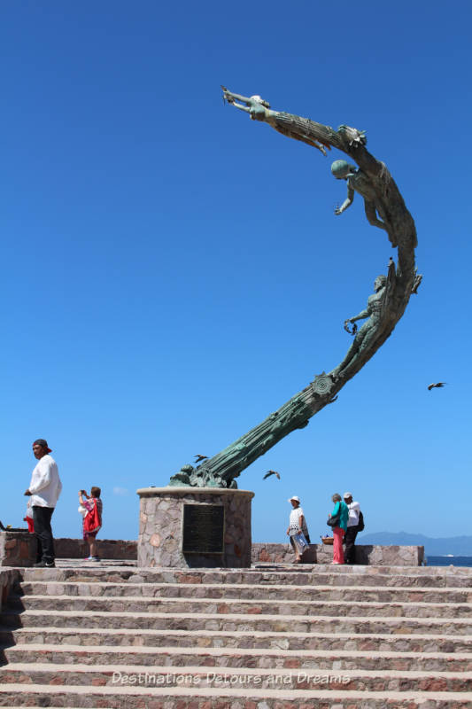 Seaside Sculptures Along the Malecón in Puerto Vallarta, Mexico: The Millenia