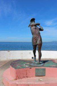 Seaside Sculptures Along the Malecón in Puerto Vallarta, Mexico: Lorena Ochoa